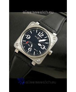 Bell and Ross BR01-92 Swiss Replica Watch in Black Dial