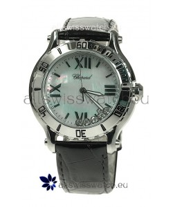 Chopard Happy Sport Ladies Japanese Watch in White Pearl Dial