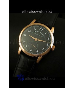 A.Lange & Sohne 1815 Edition Manual Winding Watch Pink Gold Case