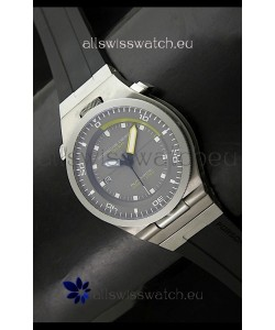 Porsche Design Diver Swiss Titanium Watch in Grey Dial - Ultimate Mirror Replica