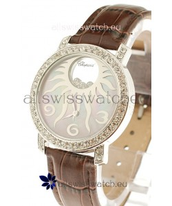 Chopard Happy Diamond Swiss Watch in Pearl Dial