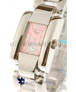 Chopard La Strada Swiss Ladies Swiss Watch in Pink Dial