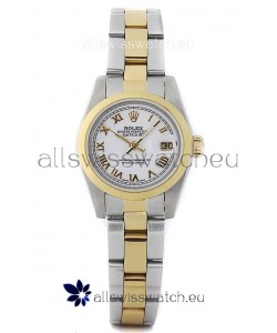 Rolex DateJust - Two Tone Lady Swiss Replica Watch
