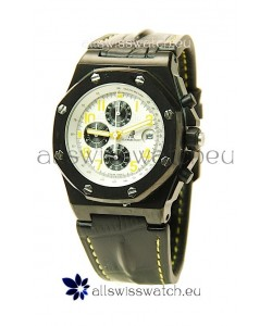 Audemars Piguet Royal Oak Offshore End of Days Japanese Replica Watch in White Dial