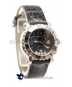 Chopard Happy Sport Ladies Swiss Watch in Black Dial