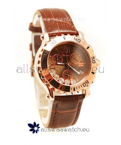 Chopard Happy Sport Ladies Gold Swiss Watch