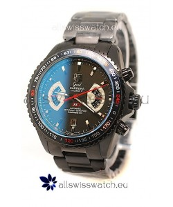 Tag Heuer Grand Carrera RS2 Japanese Replica PVD Watch