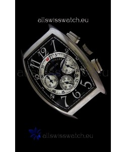 Franck Muller Master of Complications Japanese Replica Watch in Black Dial