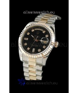 Rolex Day Date Japanese Watch in Two Tone