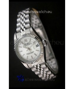 RolexDatejust Oyster Perpetual Superlative ChronoMeter Japanese Watch in White Dial
