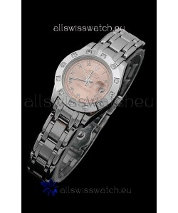 Rolex Datejust Ladies Swiss Replica Ladies Watch in Champagne Dial