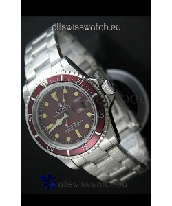 Rolex Vintage SubmarinerSwiss Replica Watch in Mulberry Dial