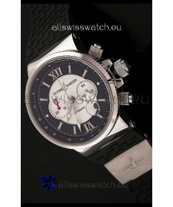 Ulysse Nardin No.239 Swiss Automatic Watch in Black&White Dial
