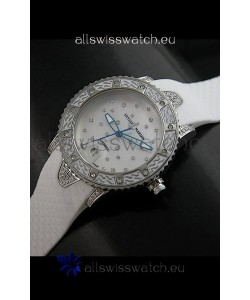 Ulysse Nardin Lady Diver White Starry Night Swiss Automatic Watch