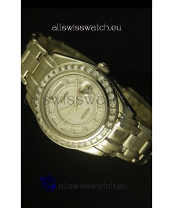 Rolex Day Date Swiss Watch in Stainless Steel Case