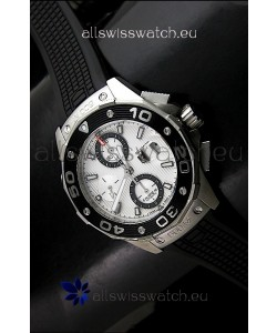 Tag Heuer Aquaracer Calibre 16Swiss Watch in White Dial